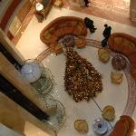 Hotel Lobby looking down