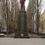 Lenin Statue near hotel