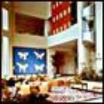 Guayaquil Hilton's main lobby center
