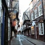 The Shambles empty of tourists!