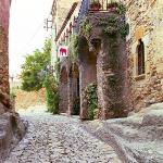 Streets of Peratallada