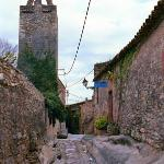 Streets of Peratallada (see the ruts in the road)