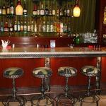 Cute hotel bar