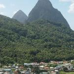 Soufriere and the Pitons - well worth the drive