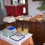 breakfast at casa del lago