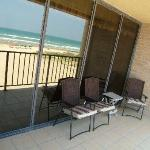 South Padre Island Sea Vista Condo #317 Balcony overlooking Gulf of Mexico