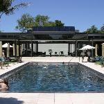 The outside pool.