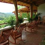 Porch of villa at Piedras y Olas