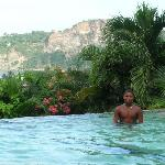 Infinity pool at Piedras y Olas