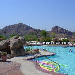 Camelback Mountain from the Pool