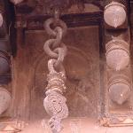 another chain carved in stone