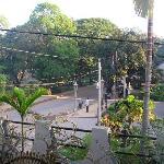 Street scene from Room 307 balcony