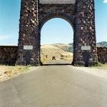 North Gate, Yellowstone National Park, Wyoming