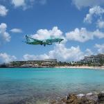 Maho Beach, Sunset Beach Bar