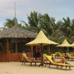 Massage Pavillion at Coco Beach