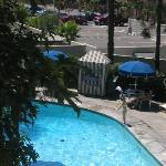 View Of Garden Pool From Our Room