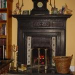 Cozy lounge for guests only at Kilburn house B&B.