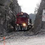 Train at Posada Barrancas