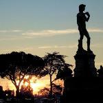 David in Bronze
