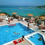 rooftop pool of derici hotel