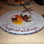 Our dessert at 1st Floor Restaurant