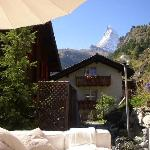 Matterhorn view from patio