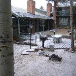 Courtyard with Gas Grills