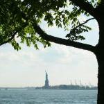 Lady Liberty, framed