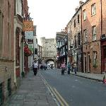 Pedestrian Street in York