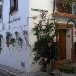Marcos @ La Villa Marbella's front door