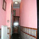 Corridor within the room