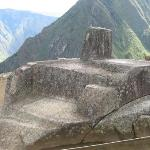 The Intihuatana at Machu Picchu