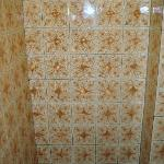 Great tiles in the toilet