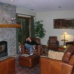 Alpine Chalet's cozy sitting room