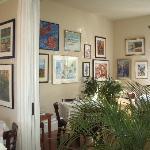 upstairs Art Galley