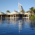 The massive Al Qasr Pool