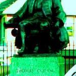 Statue of Thomas Coram by Brunswick Square