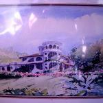 Watercolor of main building