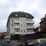 Hotel Otar from the side / front