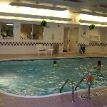 Pool exercise area