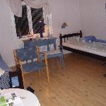 """The room at """"Præstgården"""""""