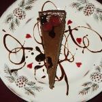 Chocolate Raspberry Truffle Cheescake
