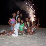 New Year Celebration in Diniwid Beach