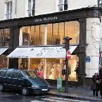 Shop of John Galliano in Rue Saint Honoré