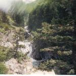 Waterfall along the hike