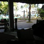 View from the Pool Bar