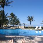 Unheated pool