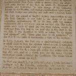 Story of fort (little hard to read)