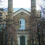 Holy Trinity West door, Feb. 2006