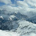 Ski in Paradise at the massive Portes du Soleil ski area.  Want to ski to France for lunch ?